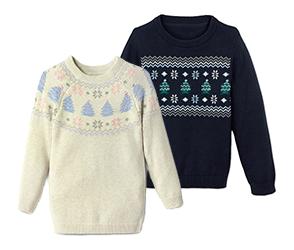 Kisgyerek kötött pulóver