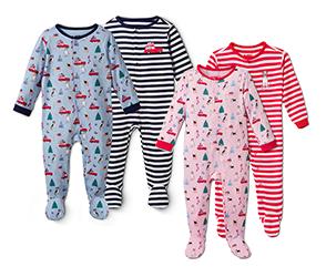 2 kisgyerek pizsama