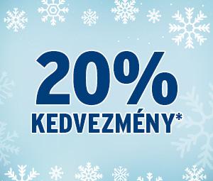 20% kedvezmény*