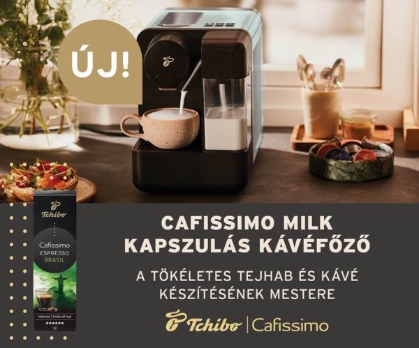 Cafissimo milk kapszulás kávéfőző