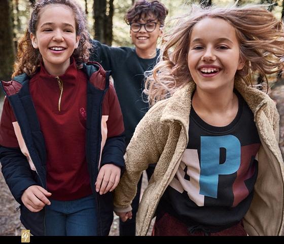 Gyerekruhák az önfeledt kikapcsolódáshoz